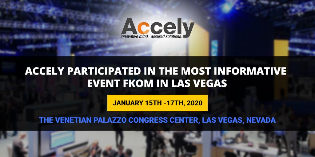 SAP Field Kick-off Meeting (FKOM) 2020 in Las Vegas