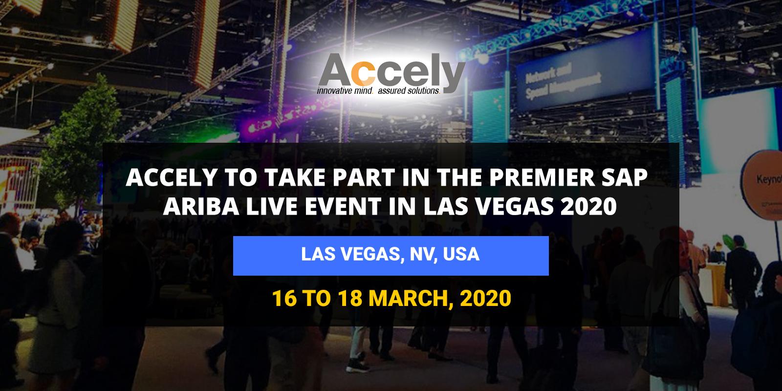 Premier SAP Ariba Live Event in Las Vegas 2020