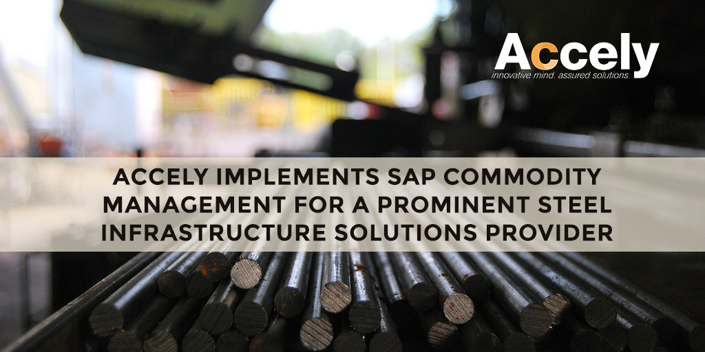 Accely Implements SAP Commodity Management