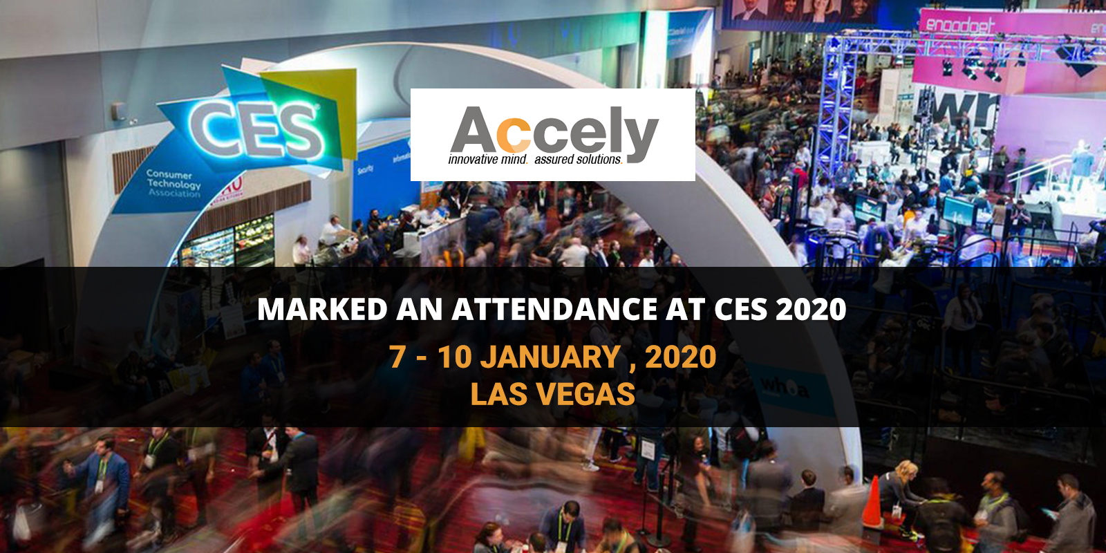 Accely Participated an Attendance at CES 2020