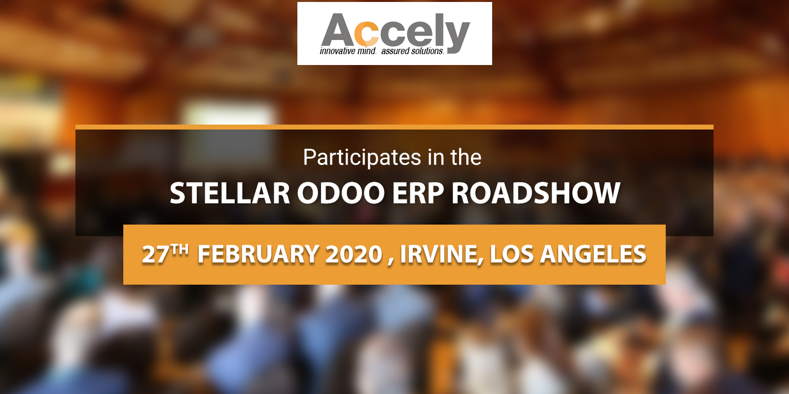 Accely Attended a Stellar Odoo ERP Roadshow