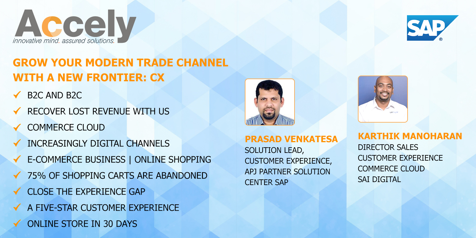 Modern trade channel with a new Frontier: CX