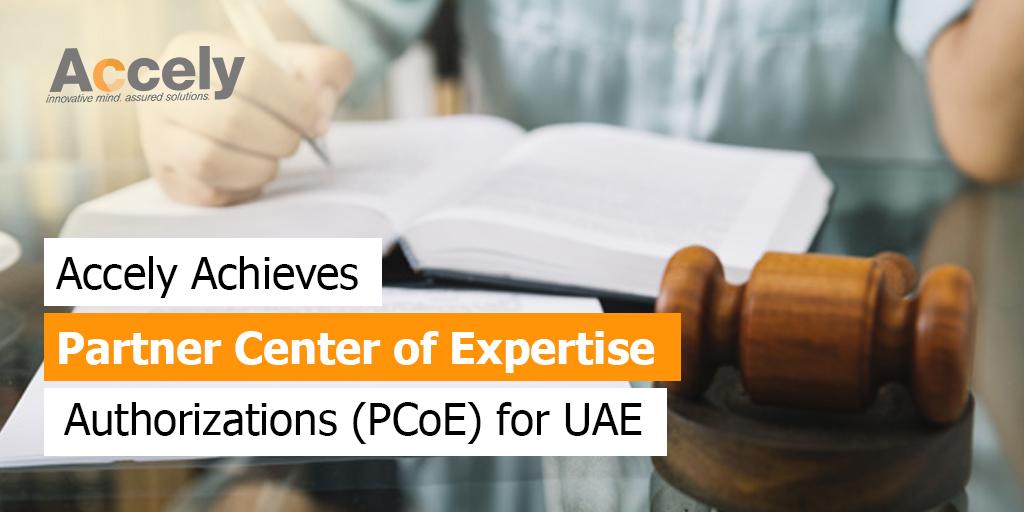 Partner Center of Expertise Authorizations for UAE