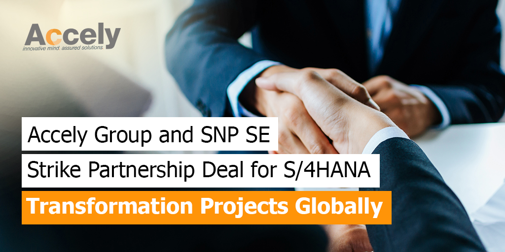 Partnership Deal for S/4HANA Transformation Projects